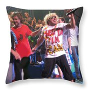 Sammy Hagar And The Wabos Cabo Wabo Throw Pillow