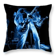 S H Bending A Cosmic Note In Spokane In 1977 Throw Pillow