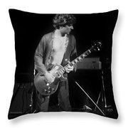 S H In Spokane On 2-2-77 Throw Pillow
