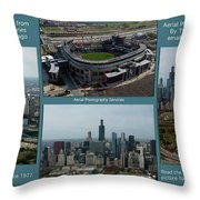 Sample Aerial Photography Services Readme Throw Pillow