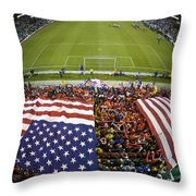Sams Army From Above Throw Pillow