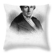 Samuel George Morton Throw Pillow