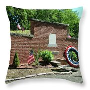 Samuel Huntington Tomb Throw Pillow