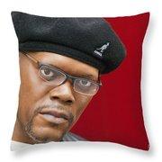Samuel L. Jackson Throw Pillow