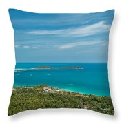 Samui Thailand Throw Pillow