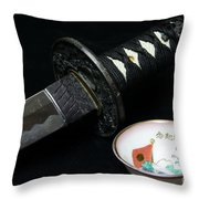 Samurai - The Way Of The Warrior - Bushido Throw Pillow