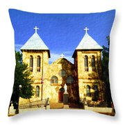 San Albino Church Throw Pillow