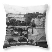 San Antonio 1918 Throw Pillow