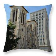 San Antonio Church 04 Throw Pillow