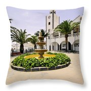 San Bartolome Throw Pillow
