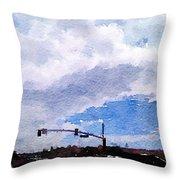 San Benito Sky Throw Pillow
