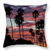 San Clemente Sunset Throw Pillow