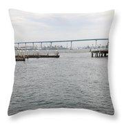 San Diego Coronado Bridge 5d24351 Throw Pillow