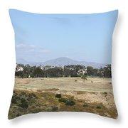 San Diego Desert Throw Pillow