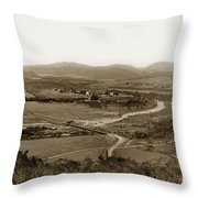 San Diego Mission In Mission Valley California Circa 1909 Throw Pillow
