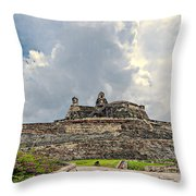 San Felipe Fort Throw Pillow