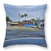 San Felipe Thunderstorm Throw Pillow