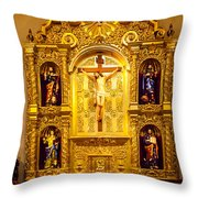 San Fernando Alter Throw Pillow