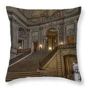 San Fran City Hall Throw Pillow