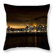Across The Bay Version B Throw Pillow