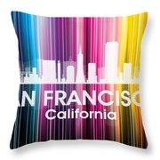 San Francisco Ca 2 Throw Pillow