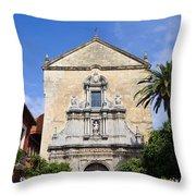 San Francisco Church In Cordoba Throw Pillow