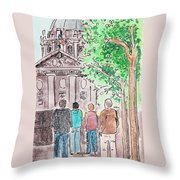San Francisco City Hall Throw Pillow