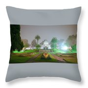 San Francisco Conservatory Of Flowers Throw Pillow