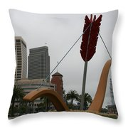 San Francisco - Cupid's Span Throw Pillow