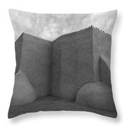 San Francisco De Asis Mission Church Throw Pillow