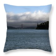 San Francisco Golden Gate Throw Pillow