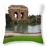 San Francisco - Palace Of Fine Arts Throw Pillow