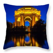 San Francisco Palace Of Fine Arts Throw Pillow