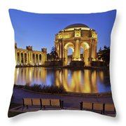 San Francisco Palace Of Fine Arts Theatre Throw Pillow