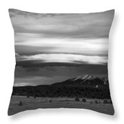 San Francisco Peaks From Williams Throw Pillow