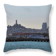 San Francisco Skyline -2 Throw Pillow