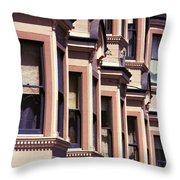 San Francisco Sunshine  Throw Pillow