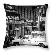 San Francisco Union Square Throw Pillow