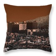 San Fransisco Sector Throw Pillow