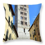 San Frediano Tower Throw Pillow