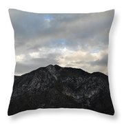 San Gabriel Mountains Evening Throw Pillow