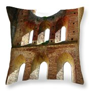 San Galgano Throw Pillow