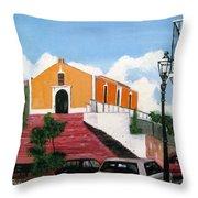 San German Chapel Throw Pillow