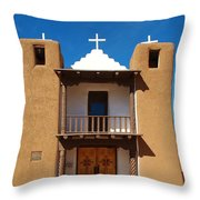 San Geronimo Church  Throw Pillow