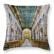 San Gil Cathedral  Throw Pillow