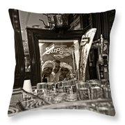San Gines - Chocolateria - Madrid Throw Pillow