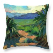 San Jacinto Visitors Center Throw Pillow