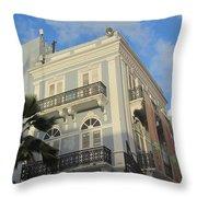 San Juan Architecture 1 Throw Pillow