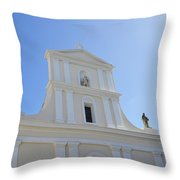 San Juan Bautista Throw Pillow