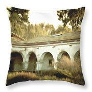 San Juan Capistrano California Throw Pillow